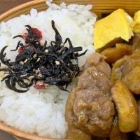 栗と鶏の煮物弁当