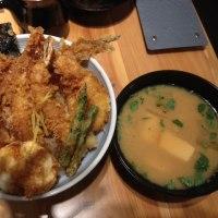 天丼ってこんなにおいしいんだね! 新宿 野村ビル 天丼 天吉屋 (再訪)