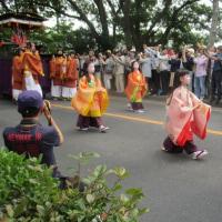 賀茂川と葵祭と子ども