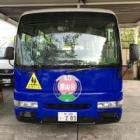 カッティングシートラッピングバスでリボーン
