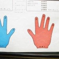 魔法の手形作戦!