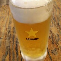 習志野市 大久保 まんぷく食堂なう  ビール