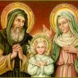 聖母マリアの両親 聖ヨアキムと聖アンナ