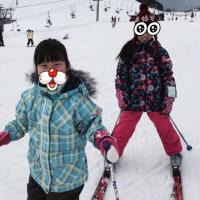 アップかんなべでスキー!