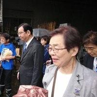 #akahata 日本の食文化を世界に発信する/この場所で続けたい 共産党:志位委員長築地市場訪問・・・今日の赤旗記事