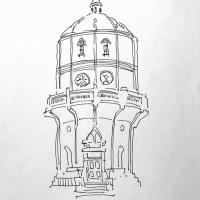 20170520 水戸市水道低区配水塔
