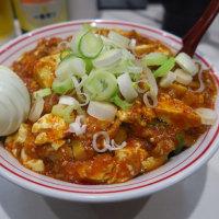 蒙古タンメン中本@東池袋 「特製樺太丼+スラタマ」