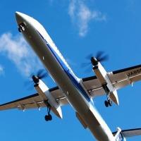 仙台空港の飛行機を撮る
