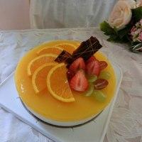 本日のご予約とBDケーキ