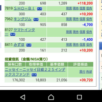 こうちゃん小児科へ 2/22の株の結果