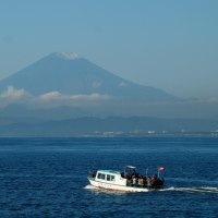 デジブック 『江の島初冠雪の富士山』