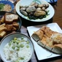 3月1日(水)タケノコと椎茸、揚げの煮物