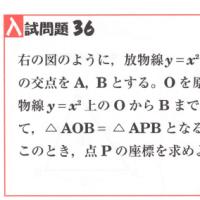 中学数学・1次関数・2次関数 36 大阪府・兵庫県・高校入試問題