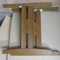 家具修理は ダイニングテーブルの脚カット加工 33-1
