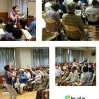 寝屋川市健康長生塾へ(6/22)