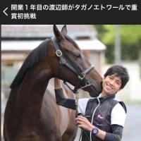 渡辺厩舎の出走馬 6月11日、12日