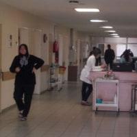 カイセリの病院にて。