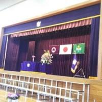 母校高山小学校の卒業式