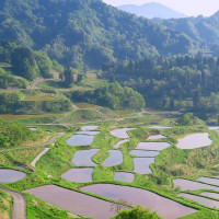 越後頸城山地・・・日本一の美しすぎる・・・星峠の棚田・・・シリーズ(1)
