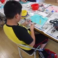 2017年6月17日(土)紙粘土工作&お楽しみレクリエーション!(平沢団地子ども広場)