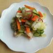 キャベツと夏野菜のもみ漬け