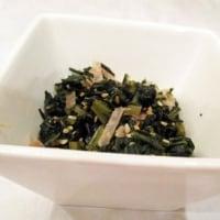 5月4日「ふきの葉の佃煮風」