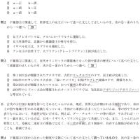 大学入試センター試験・世界史 4