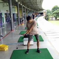 2年半ぶりに息子がゴルフボールを打った!