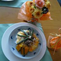 牛肉の生姜焼きのせ~和風なオムライス