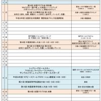 2月ラグビーカレンダー(更新)