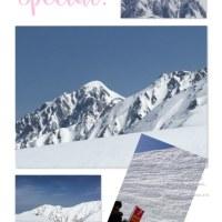 雪の大谷  最高地点19m