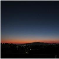 定点からの夕景(Feb27)
