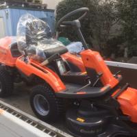 ハスクバーナ Husqvarna 乗用芝刈機 ライダー R216 AWD-1 四輪駆動 集草機 ローンスウィ-パー810付き