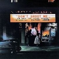 Elton John/Don't Shoot Me I'm Only The Piano Player(LP)