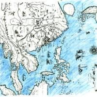 リンスホーテンの東アジア図