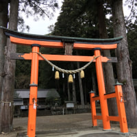 岐阜県の戸隠神社