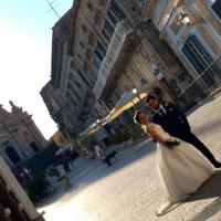 バロックの街の花嫁@ラグーサ