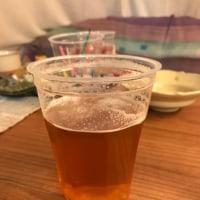 越後ビールを。そしてわびさん。