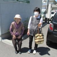 祖母の施設へ