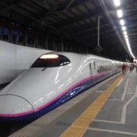 初めての上越新幹線!
