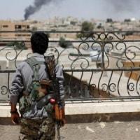 ISが「首都」で必死の抗戦 シリア・ラッカにBBC記者入る