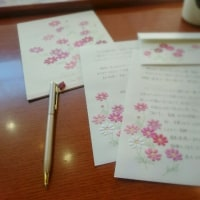 #016 Writing a letter in the morning