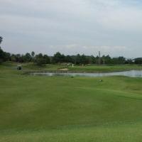 じいさまは湖へ芝刈りに・・  (GRANDEE浜名湖GC)