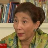 インドネシア 中国漁船摘発を「合法」 国内海域で違法漁業