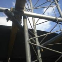 DX 4000局目はLZ &  急遽有給で屋根の修理日でした