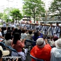 東北絆まつりパレード「福島のわらじまつり」やっぱり大きい!!