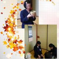 小学校でのお茶体験授業