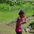 夏は毎週末庭でお水遊び!全身びしょ濡れ