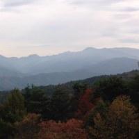 安曇野の宿から・紅葉の季節