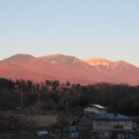 夕焼け浅間山 2